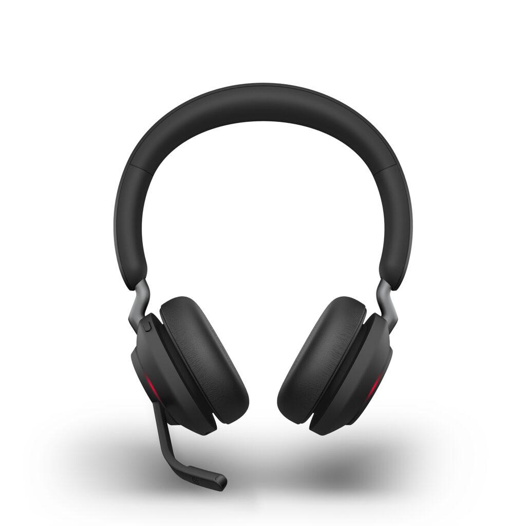 Jabra Evolve2 65 Black Stereo Front On Busylight LB