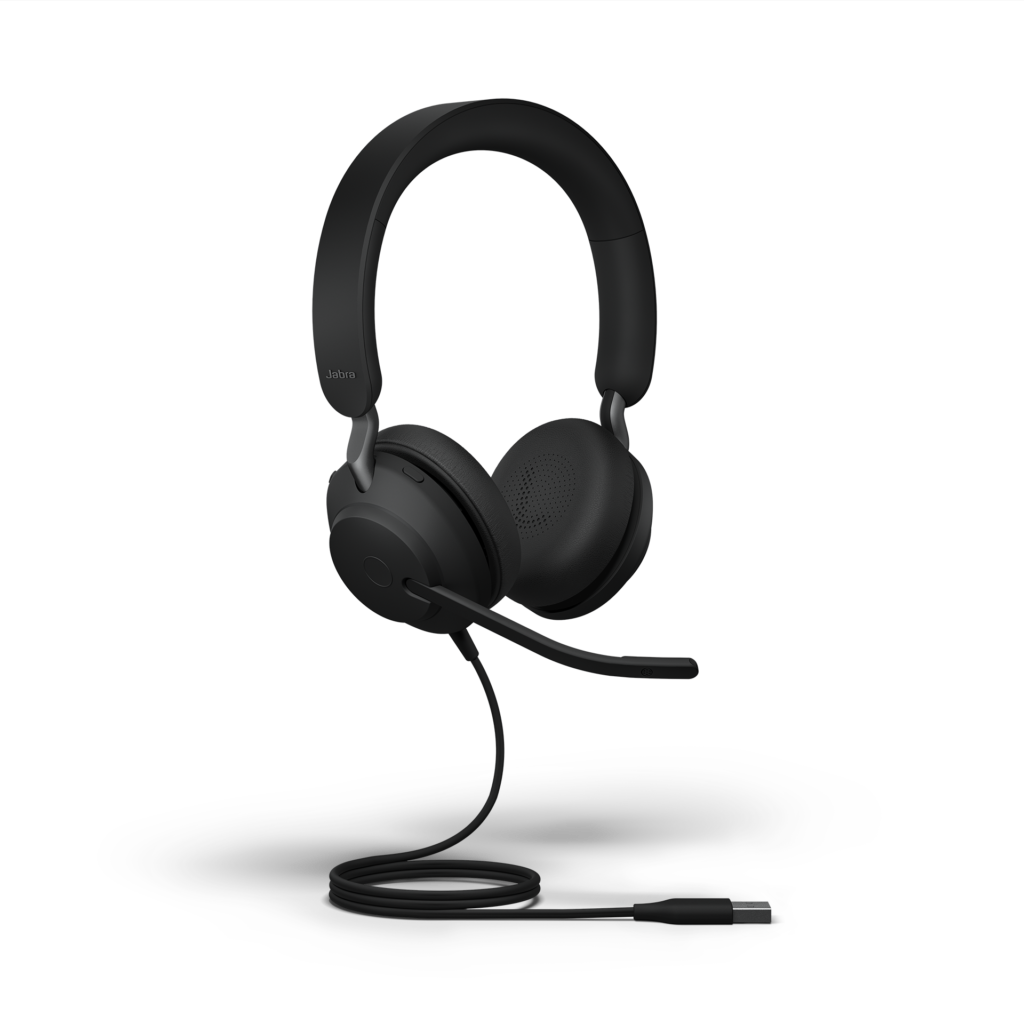 Jabra Evolve2 40 UC Stereo with USB-A Cord DB